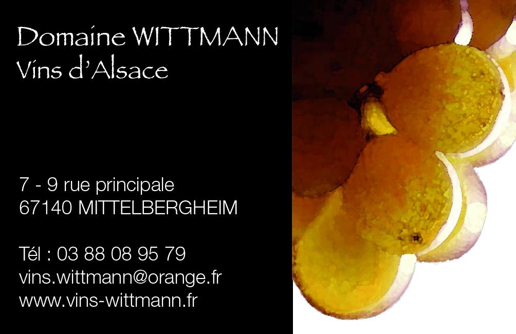 carte de visite Wittmann 2015
