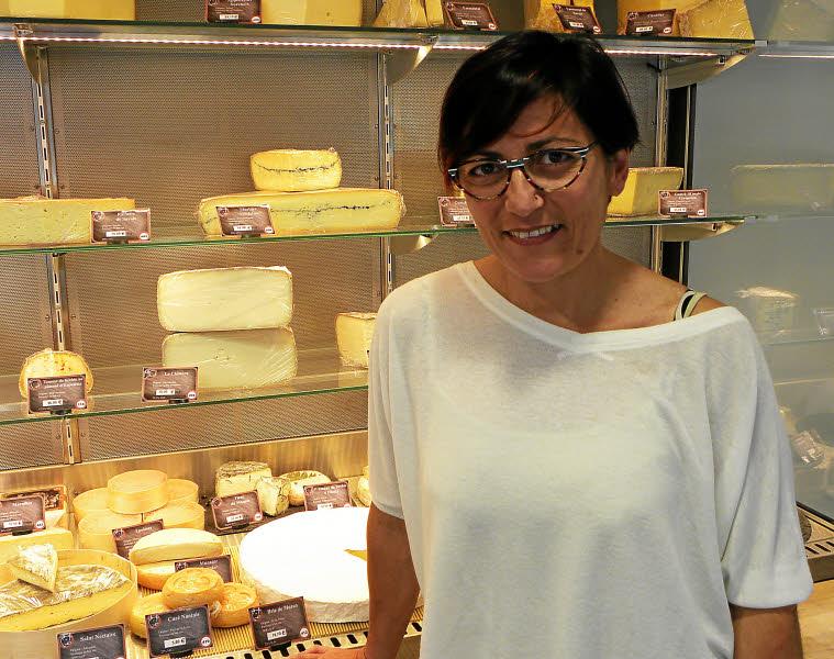 Carine Le Maillot a ouvert l'Escale fromagère, rue de Lyon, à Brest.