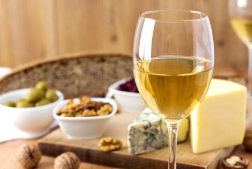 vin blanc-et-fromage